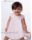 Sarah Louise Baby Dress 9688 Pink