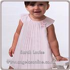 Sarah Louise Baby Dress 9688 White