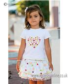 Sarah Louise Girls Top & Skirt 9864/9865
