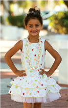 Sarah Louise Girls Dress 9866