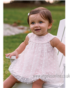Sarah Louise Baby Dress 9773 Pink