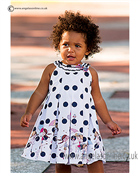 Sarah Louise Girls Dress 9851