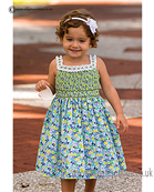 Sarah Louise Girls Dress 9880