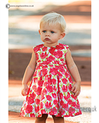 Sarah Louise Girls Dress 9808