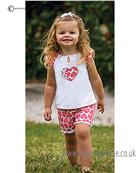 Sarah Louise Heart Top & Short 9799/9800