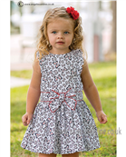 Sarah Louise Girls Dress 9824