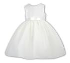 Sarah Louise Girls Christening Dress 9945 Ivory