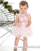 Kate Mack Girls Dress 154ROB Pink