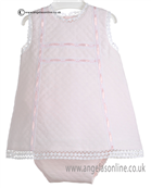 Pretty Originals Baby Girls Pale Pink Dress MB10120