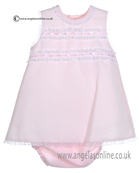 Pretty Originals Baby Girls Pink Dress MB10121E