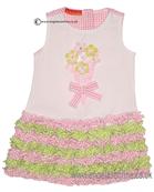 Kate Mack Girls Pink Dress 709GSA