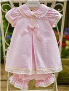 Pretty Originals Baby Girls Dress MB10242 PK/CR