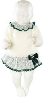 Miranda baby girls jumper & frilled jam pant 20-0131-J3 Green