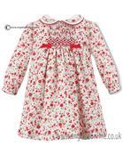 Sarah Louise baby girls dress 010572