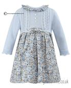 Sarah Louise long sleeve girls dress 010547 AS SAMPLE