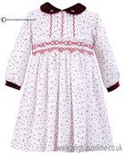Sarah Louise Girls Dress 010579 Red