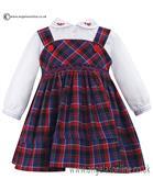Sarah Louise long sleeve dress 010609 AS SAMPLE
