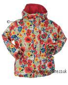 Boboli girls brightly coloured winter jacket 452179