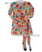 Boboli girls dress & tights 452078-452102