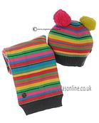 Boboli girls hat & scarf 422109-422110