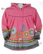 Boboli girls hooded raincoat 242121