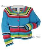 Boboli girls striped cardigan 265092