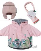 Catimini baby girls raincoat-hat-scarf CI42001-190011-190021