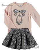 S&D Le Chic Girls Top & Skirt C6085401-5739-5917