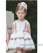 Dolce Petit girls dress 21-2233-V Beige