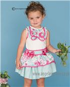 Dolce Petit girls blouse & skirt 21-2239-2/21-2239-3 Green
