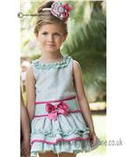 Dolce Petit girls dress 21-2238-V Green