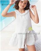 Tutto Piccolo girls dress 2447 Grey