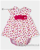 Tutto Piccolo girls dress 2795-17 Cerise