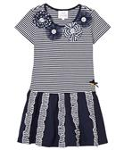 S&D Le Chic girls dress C6115820 Navy