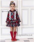 Dolce Petit girls check dress 22-2257-V