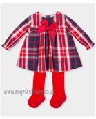 Tutto Piccolo girls dress 3447-17 Red