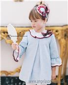 Dolce Petit Girls Dress 22-2232-V Blue
