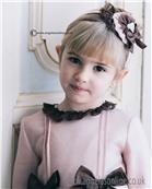 Dolce Petit girls headband 22-2248-D-17 Brown