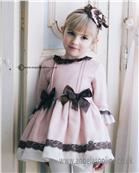 Dolce Petit Girls Dress 22-2248-V Pink