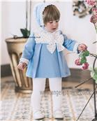 Dolce Petit baby girls dress 22-2156-V Blue