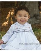 Sarah Louise girls winter dress 010882-17