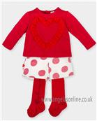 Agatha Ruiz girls top & short set 4022-17 Red