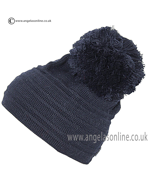 Satila Hats Navy Pom Satila Hats Winter 2013 Accessories