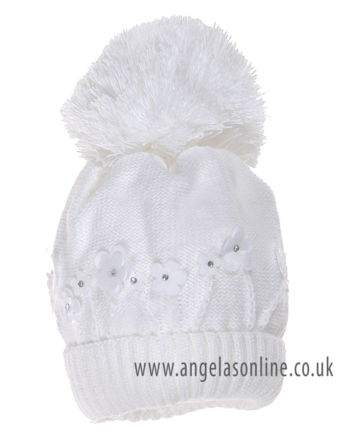 Big pom hats for girls. Large bobble hats for baby girls. Satila hats! 7ffad268eba