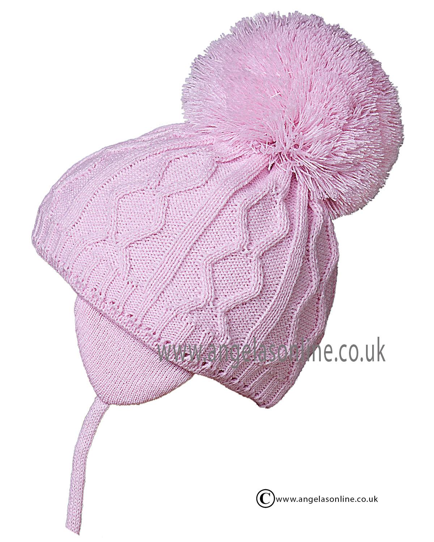 b68fb75f04d Satila Hat Charlie Pink Bobble Hat. Ski Hats For Girls North West UK