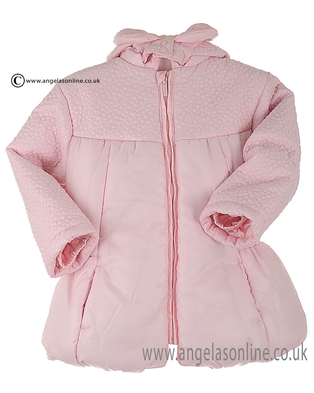 c98f02865 Tutto Piccolo Girls Winter Padded & Quilted Coat 1629 Pink