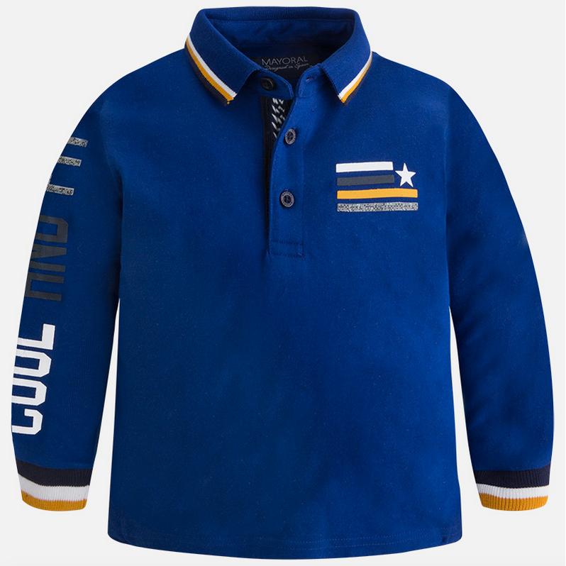 Mayoral Baby Boys Long Sleeve Designer Polo Shirt 4119 17