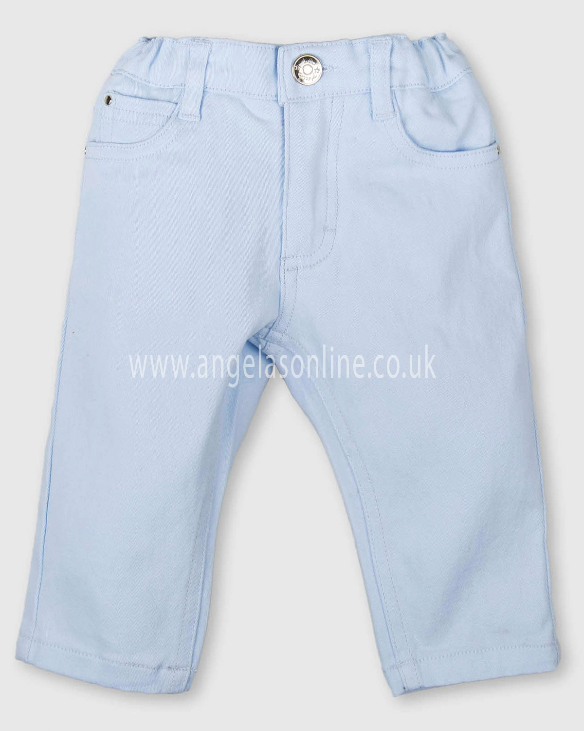 41519385c214 Tutto Piccolo baby boys full length winter trousers 3142-17 Sky Blue