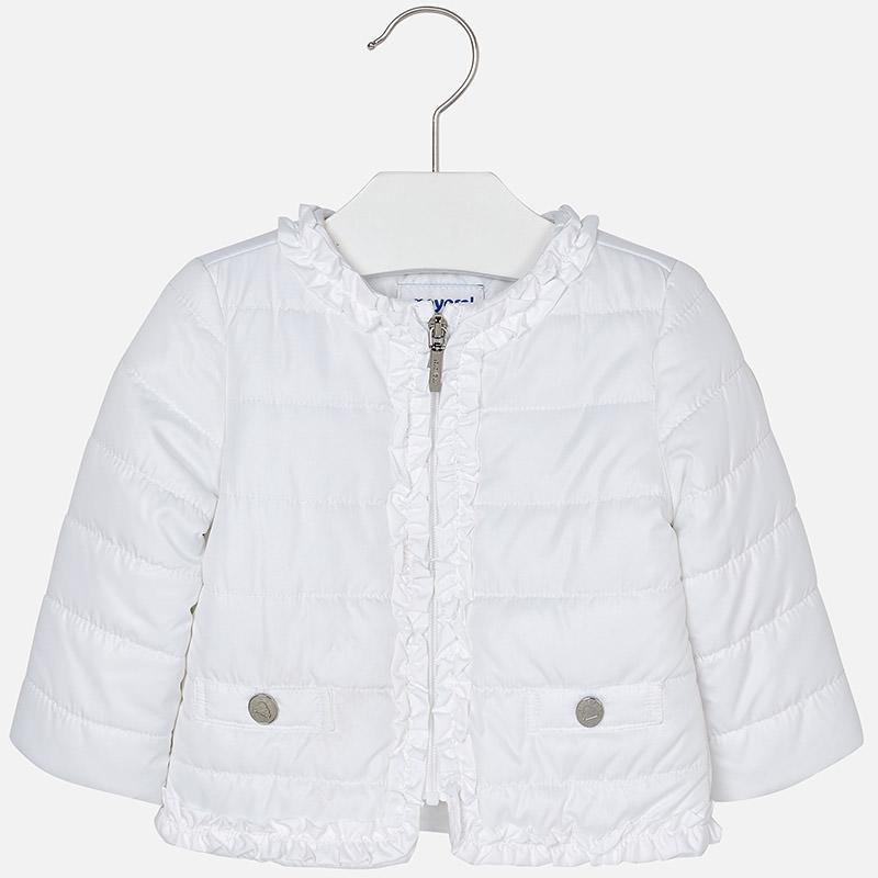 c7d4d790eadd Summer Mayoral Baby Girls White zip up Jacket 1436-18 White