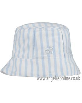Emile Et Rose Striped Sun Hat 4752pb GRAYSON
